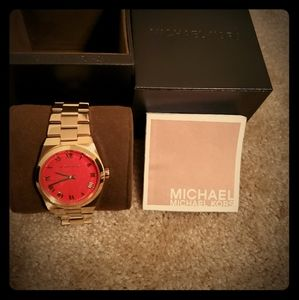 Michael Kors Channing Gold Watch